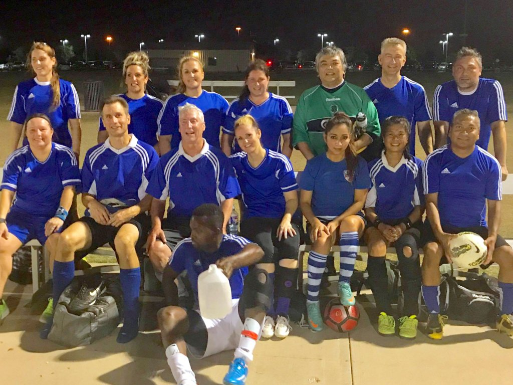 The Wave Coed Soccer Club - Fall 2017