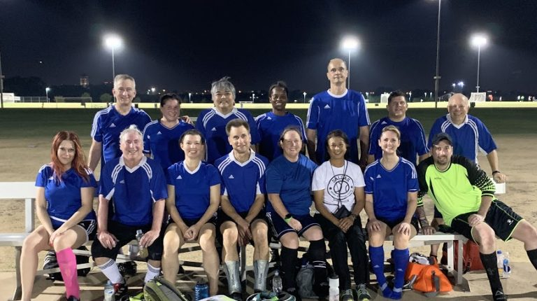 The Wave Coed Soccer Club Team Photo